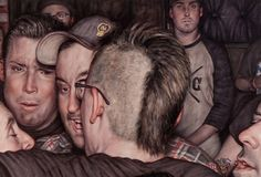 To Brooklyn, New York based artist Dan Witz, the mosh pit is a place of savage beauty. Featured here on our blog, the longtime street artist, who was in his own punk band, combines his passion for …