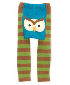 Another great find on #zulily! Woodland Owl Leggings - Infant #zulilyfinds