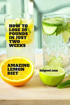 This diet is based on the lemons and in determined mode it makes detoxification of the body, and what's the best thing about it is that in 14 days you can lose 20 pounds. Thisdiet is very simple. Every morning before breakfast drink lemon juice and water as it is described bellow. First day– juice …