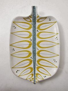 Platter by Stig Lindberg.  Love.