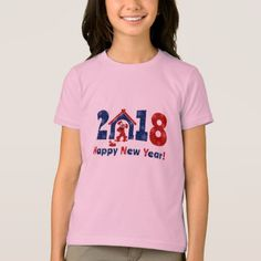 2018. Year of the Dog. T-Shirt - New Year's Eve happy new year designs party celebration Saint Sylvester's Day