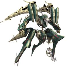 Green Face - Characters & Art - Xenoblade Chronicles