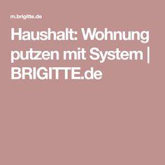 Haushalt: Wohnung putzen mit System | BRIGITTE.de