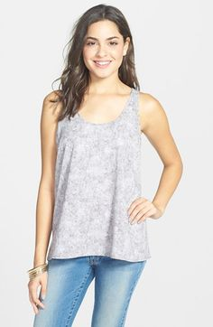 Frenchi®+Frenchi+Print+Swing+Tank+(Juniors)+available+at+#Nordstrom