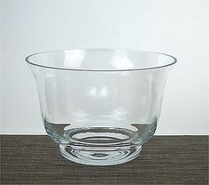 Clear transparent thick glass handmade #candle #holder salad #fruit bowl 14 cm ,  View more on the LINK: http://www.zeppy.io/product/gb/2/162291854564/
