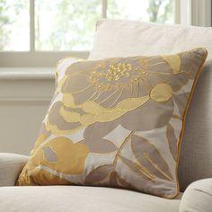 Birch Lane Lacie Embroidered Throw Pillow