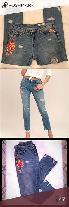 NWT Jeans by Dragonfly; Size 0//2; Leather Look