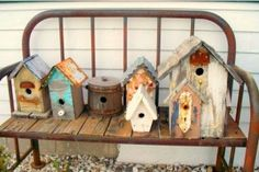 Birdhouse bench 2