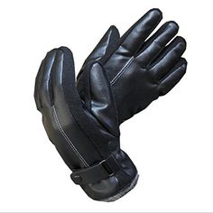 VESNIBA Fashion Winter Warm Waterproof Mens Leather Gloves For Motorcycle Driving * To view further for this item, visit the image link.