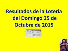 Resultados Sorteo Domingo 25 de Octubre 2015 Loteria Nacional de Panama Dominical