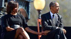 """Obama gedenkt des """"blutigen Sonntags"""" von Selma. 50 Jahre nach der als """"blutiger Sonntag"""" in die amerik. Geschichte eingegangene Polizeigewalt gegen schwarze Demonstranten hat der 1. schwarze US-Präsident die Bürgerrechtsbewegung gewürdigt. Noch immer werfe die Geschichte des Umgangs mit Menschen anderer Hautfarbe in den USA """"einen langen Schatten"""", sagte B. Obama in Selma im Südstaat Alabama…"""