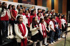 Se presenta la Camerata Infantil en el Instituto Mexicano de la Radio. Foto: Dardane Perez