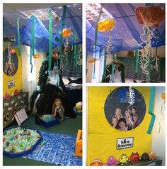 Our 'Under the sea' themed role play!