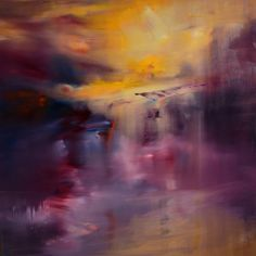"Saatchi Art Artist Maurice Sapiro; Painting, ""Purple Shadows"" #art"