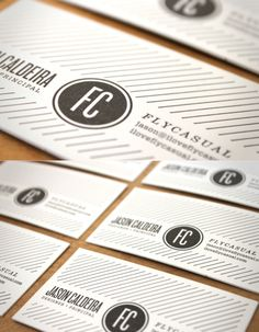 Letterpress business cards. Booyah! #letterpress #businesscards
