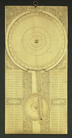 nonymous Galileo's jovilabe, 17th century Florence, Istituto e Museo di Storia della Scienza, inv. 3178  This instrument was designed to calculate the periods of Jupiter's moons. It is a complex analogue calculator whose use, Galileo argued, would allow navigators to determine longitude at sea.