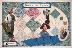 Love the Downton Abbey Fabric to be released in November