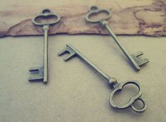 Hey, I found this really awesome Etsy listing at https://www.etsy.com/uk/listing/173924066/20pcs-of-antique-bronze-key-pendant