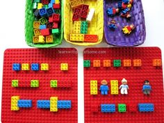 Learning Patterns with LEGO. Invitation to Complete the Pattern Love learning with legos Lego Duplo, Lego Math, Math For Kids, Fun Math, Learning Time, Kids Learning, Childhood Education, Kids Education, Math Patterns