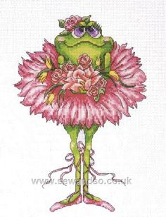 Ballerina frog 2 1/3