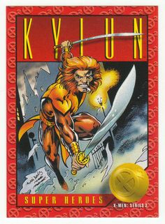 X-Men Series 2 - Kylun # 17 Skybox 1993