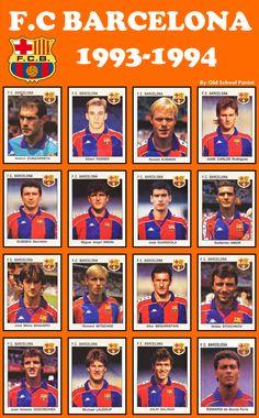 FC BARCELONA 1994