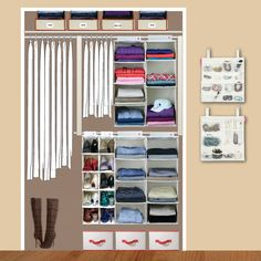 Small Closet Designs for Women | ... small, cramped, ranch style ...