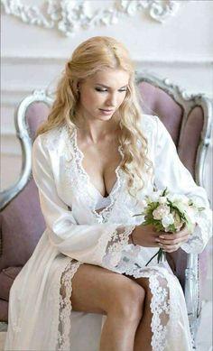 6 bridal lingerie brands to check out for a sizzling honeymoon night Bridal Boudoir, Bridal Robes, Bridal Lingerie, Bridal Dresses, Lingerie Xxl, Lingerie Sleepwear, Women Lingerie, Nightwear, Wedding Night Lingerie