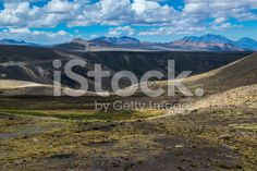 empty landscape in the Andes royalty-free stock photo