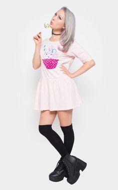 Hello Cupcake Dress