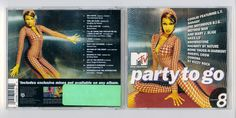 """MTV """"PARTY TO GO"""" Volume 8 Cd Compact Disc Free S/H USA #SingerSongwriter"""