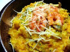 南瓜燉飯 pumpkin risotto