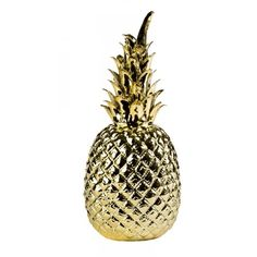Pineapple ananas goud