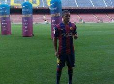 TAIÇOCA FUTEBOL CLUBE : Barça celebra chegada de Douglas