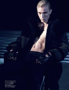 Lucky Blue Smith embraces a dark edge as he covers the fall-winter 2015 issue of L'Officiel Hommes Singapore. Lucky Blue Smith, Black N White Images, Big Black, Harlem Quinn, Yves Saint Laurent, Singapore Fashion, The Fashionisto, Black Books, Fall Winter 2015