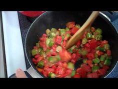 Okra & Tomatoes - YouTube