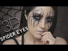 Spider Eyes Halloween Makeup Tutorial 2016 - YouTube