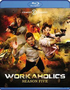 WORKAHOLICS Season 5 Blu-ray Contest