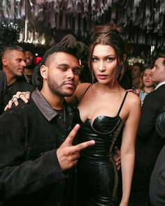 """nowhollywood: """"The Weeknd and Bella Hadid at the 2016 MET Gala After Party in New York City,NY, """" Gigi Hadid, Gigi Et Bella Hadid, Bella Hadid Estilo, Bella Hadid Hair, Abel And Bella, Kj Apa Riverdale, Fashion Couple, The Weeknd, Famous Couples"""