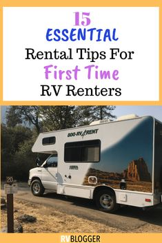We came up with a comprehensive list of tips for you to use for your RV rental while RVing as a first time RV renter. It seems like there are a million things to know about renting a motorhome and we cover the most important ones. Click, Send or Save to find out all 15 Essential Rental Tips. It will save you time and money!  #rvcampers #rvcamping #rvhack #rental #rv #rentalhouse #rvrentaltips #cheaprvrental #rvlife #rvtips #campingtips #campingessentials #rvessentials #rvmusthaves