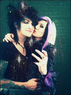 Idek why I'm pinning so many pictures of Jinxx and Sami today, sometimes their adorableness is just too much to handle