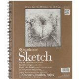 Strathmore Series 400 Sketch Pads 9 in. x 12 in. - pad of 100 - http://shopattonys.com/strathmore-series-400-sketch-pads-9-in-x-12-in-pad-of-100/