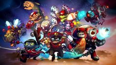 Fans of the Ronimo Games MOBA Awesomenauts should be interested to hear that Patch 1.5 has come out for the game and part of it is the inclusion of DLC Skins for the characters. Featuring a new skin for each of the characters players can purchase them in a multitude of ways depending on how many and which of the new skins each player is interested in.