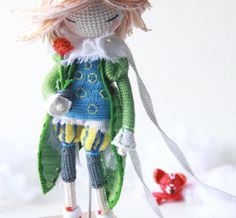 It has always been my desire to crochet and sew and knit and generally make thingsfor babies and children.Dolls have been on...