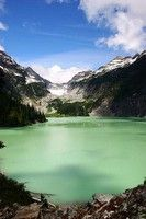Blanca Lake. Central Cascades. Roundtrip 7.5 miles, Elevation Gain 3300 ft, Highest Point 4600 ft