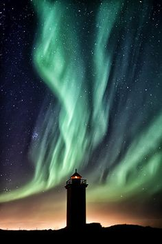 photography sky landscape stars northern lights night sky nature scenery Aurora europe science lighthouse iceland aurora borealis evts Gunnar Gestur 57p