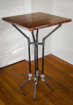 Pedestal Pipe Table Base DIY Furniture Dining