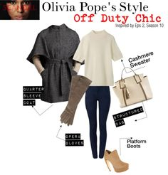 """Scandal: Olivia Pope's Style"" by kelaskloset on Polyvore"