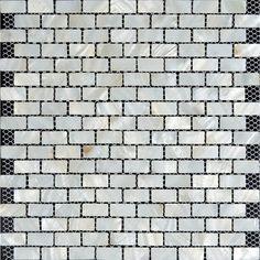 mother of pearl tiles for kitchen and bathroom natural shell materials 45 square mosaic backsplash white seashell mosaic wall tile st003 pinterest - Ubahn Fliese Backsplash Ideen