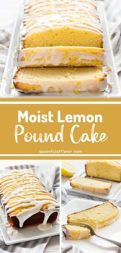 A delicious glazed dessert idea you must try this Easter! Lemon Pound Cake is made with basic ingredients and takes less than 10 minutes of prep. Family and friends will love this moist and tender Easter homemade dessert with a sweet and buttery taste in every bite!